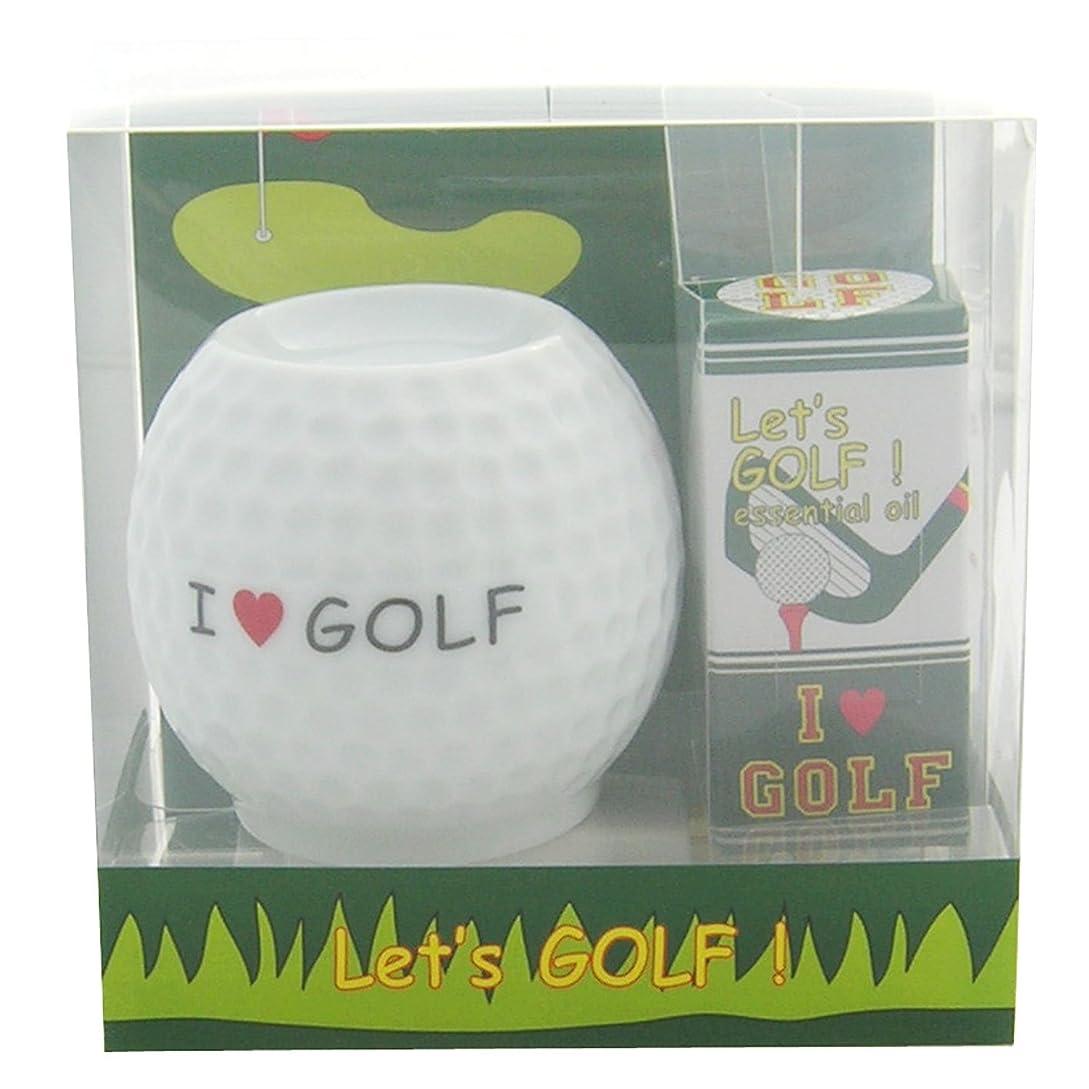 書くどこでもレンジフリート レッツ ゴルフ! アロマライトセット アイラヴゴルフ 4ml
