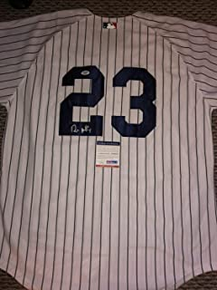 Don Mattingly Autographed Signed Auto New York Yankees Jersey PSA/DNA