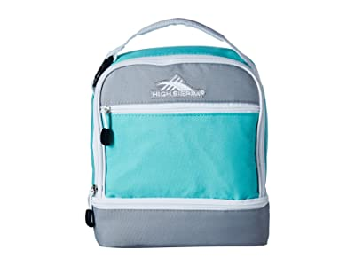 High Sierra Stacked Compartment Bag (Aquamarine/Ash/White) Bags