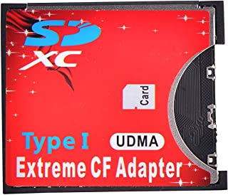 a300 D300, D60 50D FunDisc 8GB SDHC Card with Extreme Compact Flash SD//SDHC//SDXC to Type II CF Adapter For for Canon G5 a850 5D 7D 40D a35,0 a700 D200 D2X 300D 1DX 400D D3X; Sony a100 a200 5D2 EOS 10D 350D A900; Nikon D100 30D 20D D3