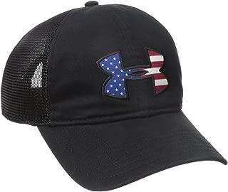 Under Armour Men's Big Flag Logo Mesh Cap