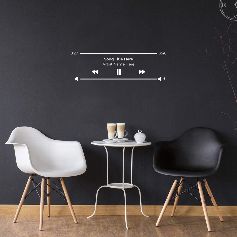 Vinyl Wall Art Decal - Custom Now Playing - 10.5