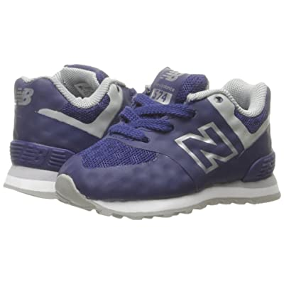 New Balance Kids 574 Breathe (Infant/Toddler) (Blue/Grey) Boys Shoes