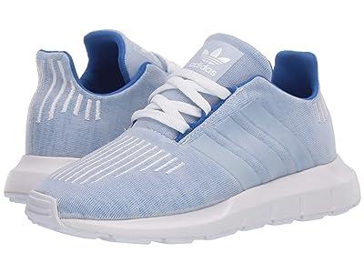 adidas Originals Kids Swift Run C (Little Kid) (Blue/White) Boys Shoes