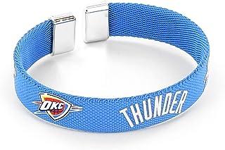 aminco NBA Oklahoma City Thunder Ribbon Band Bracelet