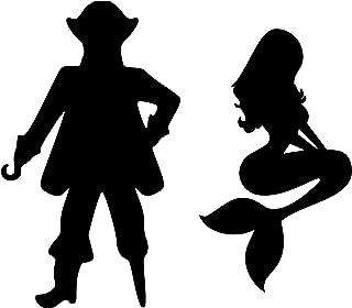 Best pirate mermaid bathroom sign Reviews