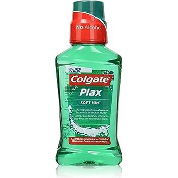 Elixir Bucal Colgate Plax Verde Menta, 12 Horas de Proteccion, 250 ...