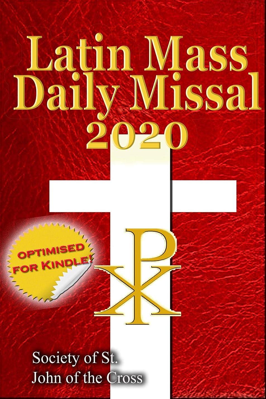 ソフィー好むエイリアスThe Latin Mass Daily Missal: 2020 (English Edition)