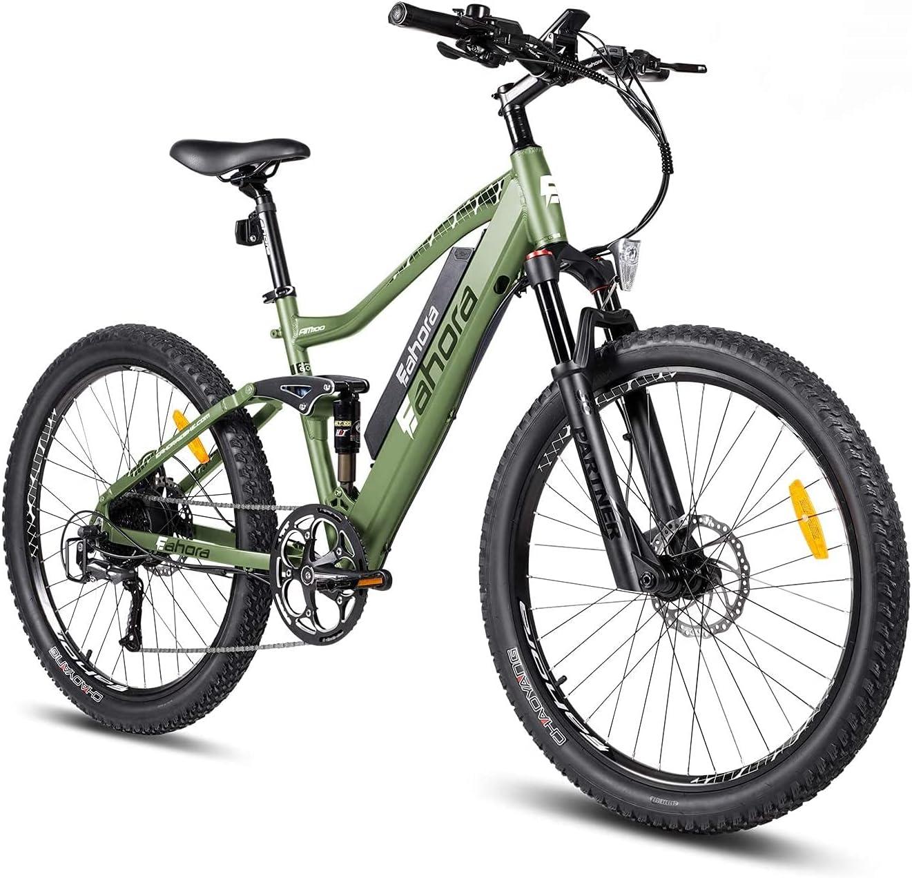 eAhora Electric Max 62% Topics on TV OFF Bike 27.5'' AM100 f Plus Mountain Bikes
