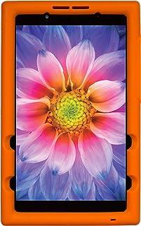 BobjGear Bobj Funda Resistente para la Tableta (20.3) Lenovo Tab E8 (TB-8304F) (Naranja)