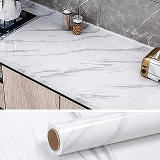 VEELIKE Papel Pintado Autoadhesivo Lavable Vinilo Adhesivo para Encimera de Cocina Papel Adesivo Decorativos Muebles Adhes...