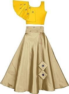 Fashion Dream Girls' Cotton & Silk Lehenga Choli