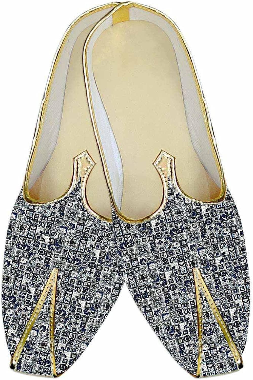 Herren Grau Grau Hochzeit Schuhe Blau Gewinde Design MJ015263  gute Qualität