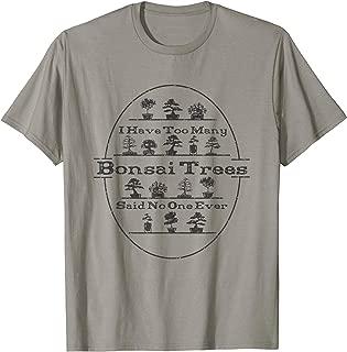 Best bonsai t shirt Reviews