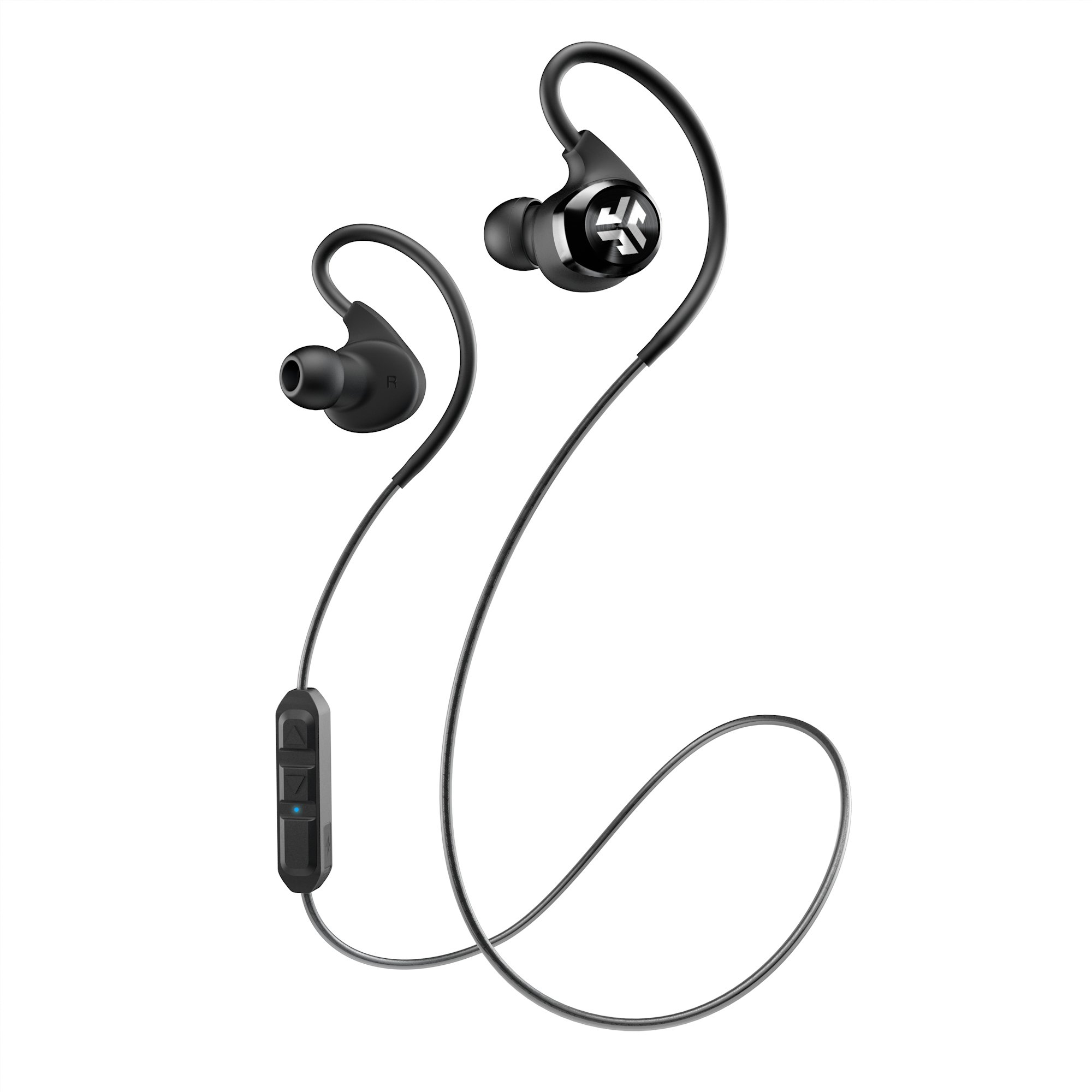 Amazon Com Jlab Audio Epic Bluetooth 4 0 Wireless Sports Earbuds With 10 Hour Battery And Ipx4 Waterproof Rating Black Home Audio Theater