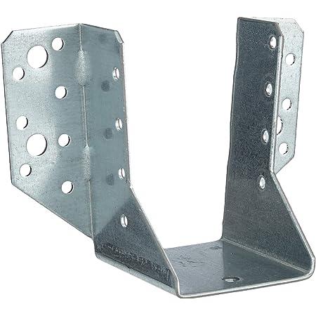 GAH-Alberts 331375 Zapata de viga tipo A - sendzimir galvanizado, 60 x 100 mm / 6 piezas