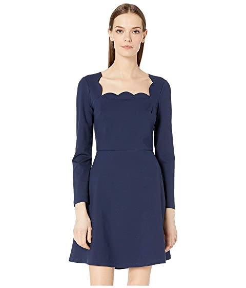 Kate Spade New York Scallop Ponte Dress