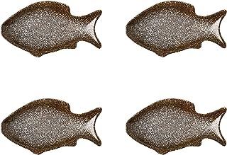 Voorgerechtplaten Visvormige Sausschotels Japanse Stijl Keramische Soja Azijn Dompelplaat Kruiden Schotel Kruiderij Schote...