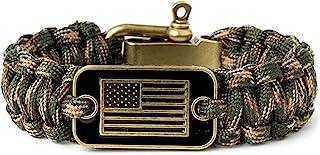 دستبند iHeartDogs Camo Paracord | 20٪ از فروش برای کمک به جانبازان با پناهگاه یا سگهای خدماتی اهدا می شود