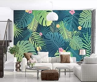 Wallpaper Wallpapers 3D Wallpaper Modern Green Plant Leaves Fresh Wall Mural Decorative Wallpaper Kitchen Wallpaper Bathroom Wallpaper Bedroom Living Room Wallpaper