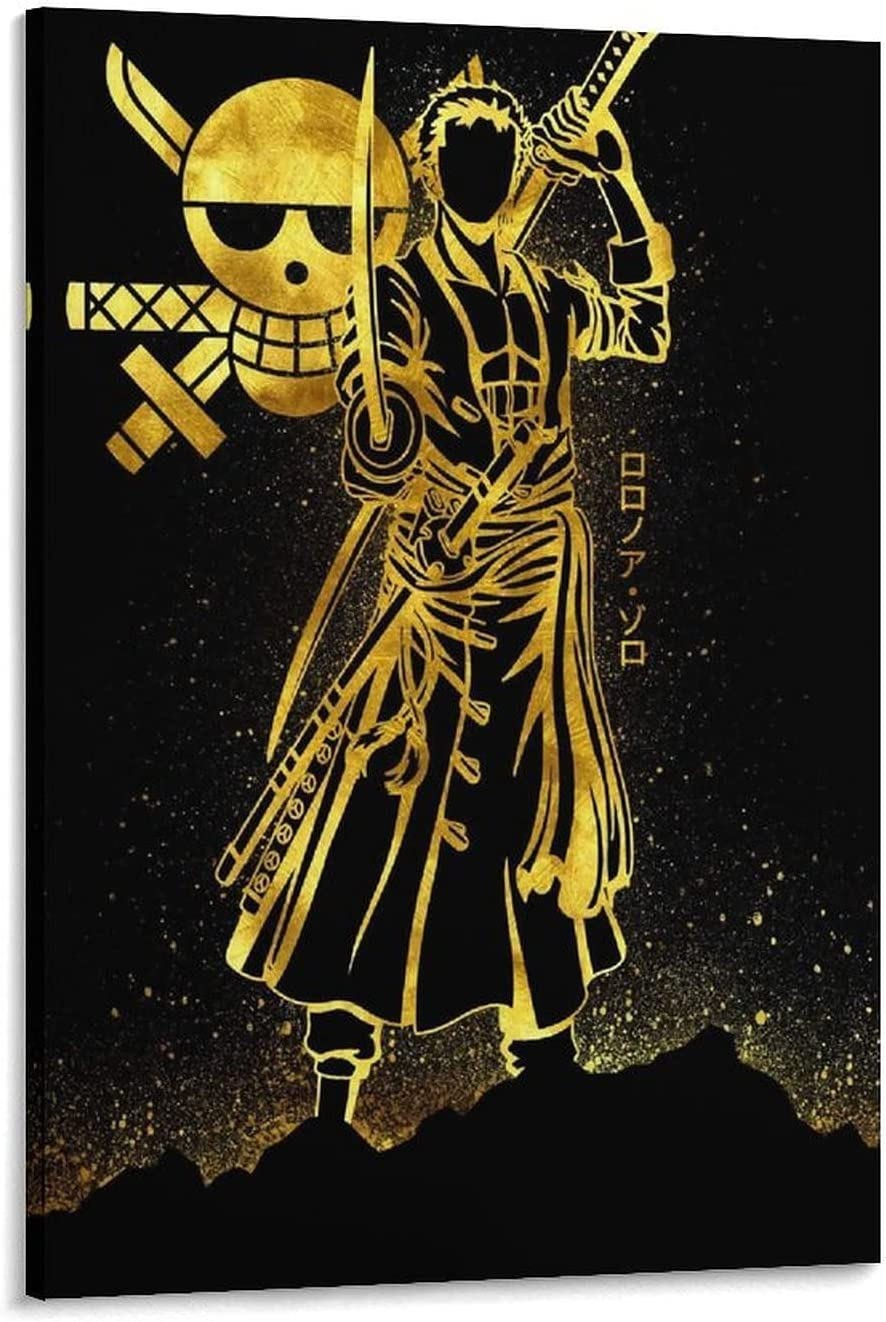 Super sale XYDQ Anime One Piece Zoro Popular product Decorative Canvas Art Poster Painting