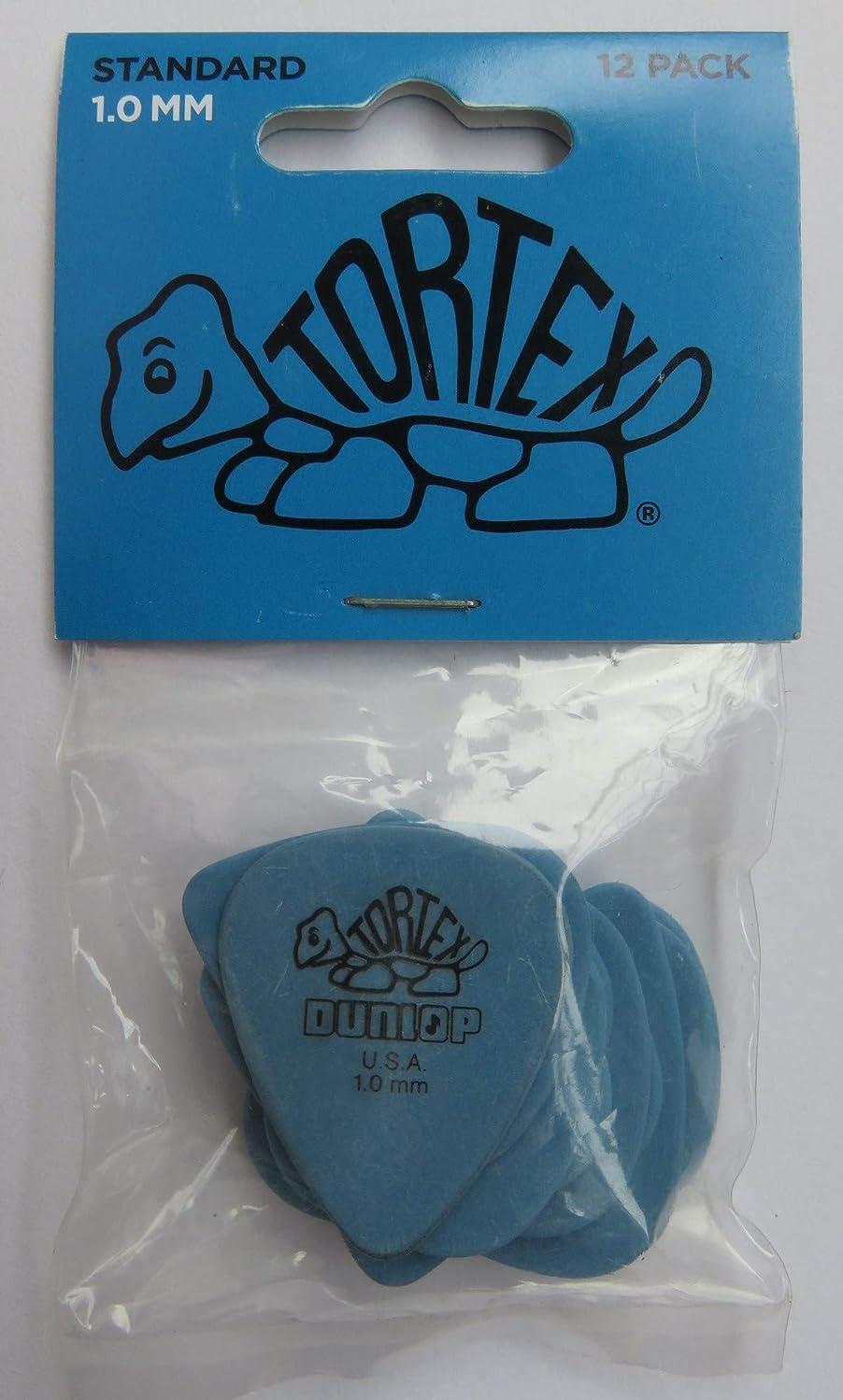 移行するビスケット炭水化物Dunlop(ダンロップ) Tortex トーテックス Standard スタンダード 1.0mm 12枚 [並行輸入品]