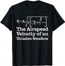 Airspeed Velocity Of An Unladen Swallow T-Shirt