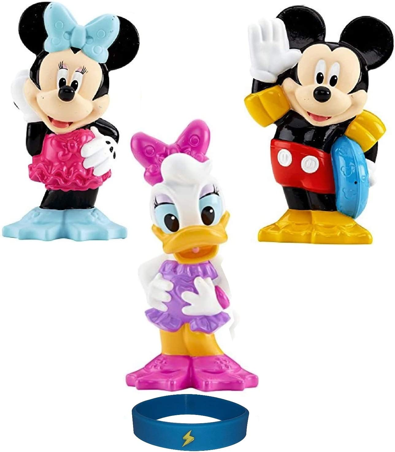 Set of 3 Bath Toys Clubhouse Mickey Minn Swimmer service Featuring Year-end annual account Water