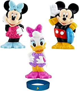Set of 3 Bath Toys Clubhouse Water Swimmer Featuring Mickey Minnie Mouse and Daisy Squeeze Pool squirter Bathtub Shower To...