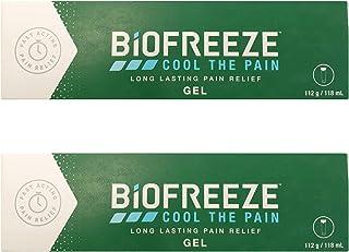Biofreeze - Set de 2 tubos de gel para aliviar el dolor