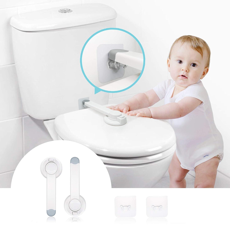 Baby Toilet Lock 2 Pack Locks Superior Lowest price challenge Upgraded Child Gapless Sa