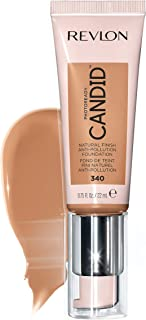 Revlon PhotoReady Candid Natural Finish Foundation, with Anti-Pollution, Antioxidant, Anti-Blue Light Ingredients, True Be...