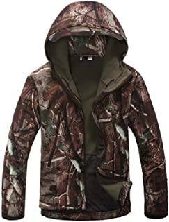 Mate U Jackets Lurker Shark Skin Softshell Military et Men Waterproof Coat Camouflage Hooded Army Camo