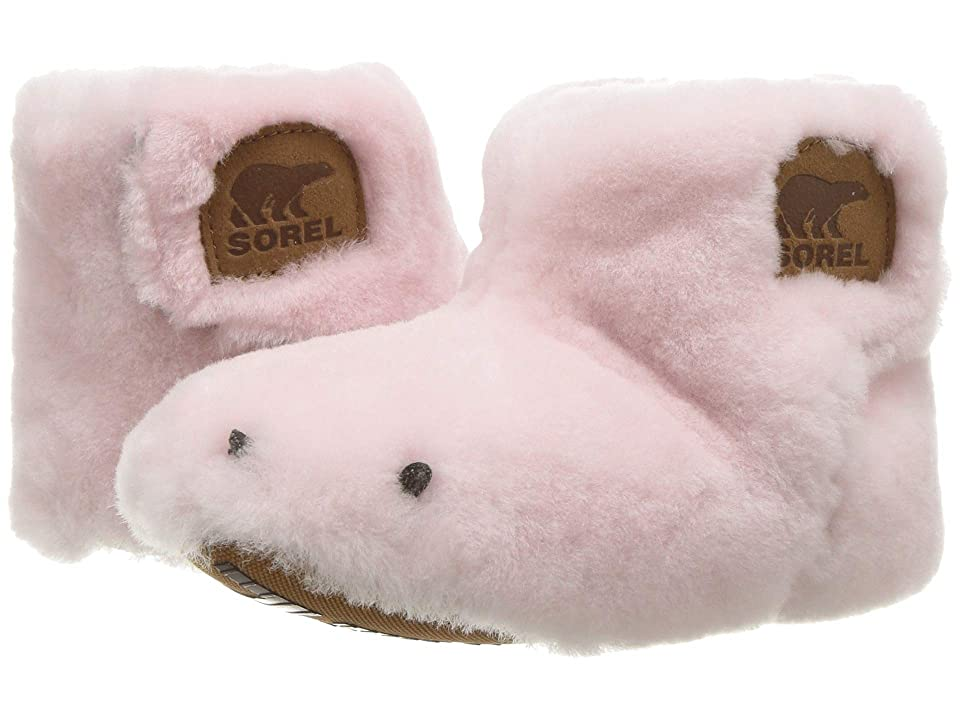 SOREL Kids Bear Paw Slipper (Toddler) (Dusty Pink/Elk) Girls Shoes