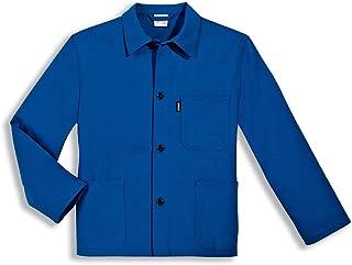 Gerader Armabschluss Uvex 125 Herren-Arbeitsjacke 100/% Baumwolle Blaue M/änner-Bundjacke