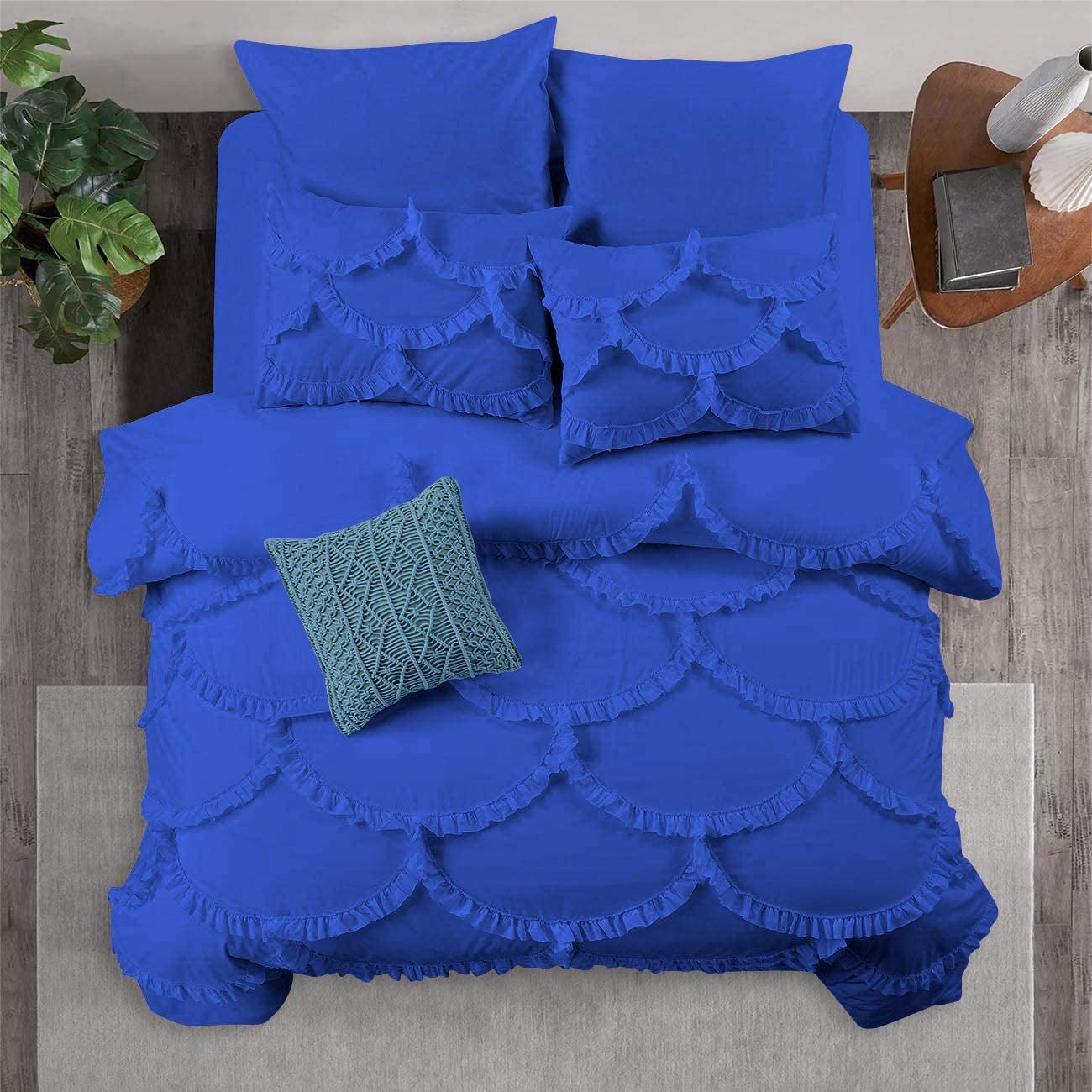 PG Beddings 1 Piece Duvet w Cheap sale Cover Chic Sirena Popular overseas Shabby
