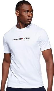 Tommy Hilfiger Men's TJM STRaight Small Logo T-Shirt