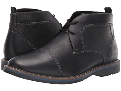Nunn Bush Pasadena Cap Toe Chukka (Black) Men