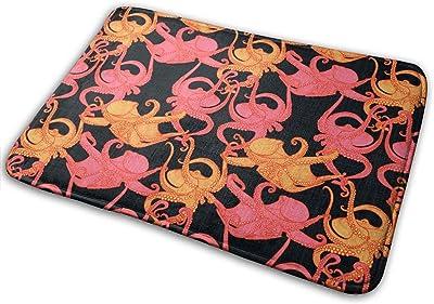 Animal Octopus Carpet Non-Slip Welcome Front Doormat Entryway Carpet Washable Outdoor Indoor Mat Room Rug 15.7 X 23.6 inch