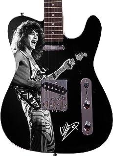 Eddie Van Halen Autographed Signed Custom Graphics Guitar