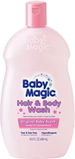 Baby Magic Hair and Body Wash,  Original Baby Scent,  16.5 Ounces