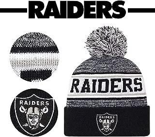 oakland raiders knit hats