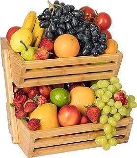 bamboo vegetable basket