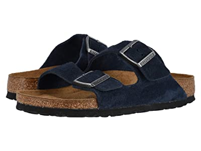Birkenstock Arizona Soft Footbed (Night Suede) Sandals