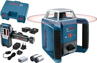 Bosch Professional Nivel láser giratorio GRL 400 H (uso con un solo botón, alcance Ø: hasta 400m, en maletín)