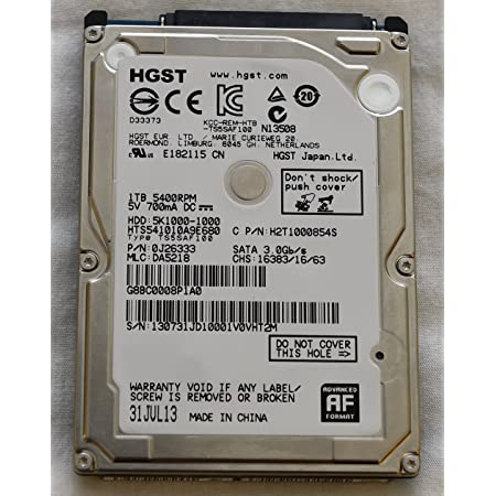 1TB 2.5 Hard Drive for Gateway T-6836 T-6840C T-6841H T-6842 T-6842H T-6859U Laptops