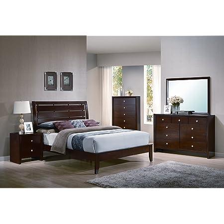 Amazon Com Yuan Tai Adele 5 Piece Bedroom Furniture Set King Furniture Decor