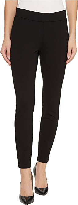 NYDJ Petite Petite Basic Ponte Leggings in Black