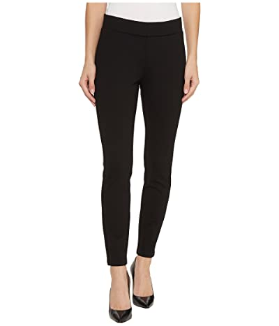 NYDJ Petite Petite Basic Ponte Leggings in Black (Black) Women