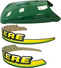 Kumar Bros USA New Upper Hood with LH & RH Decal Set Fits John Deere LT133 LT155 LT166 LTR155 LTR166